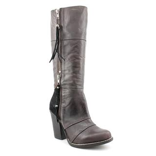Kelsi Dagger Women's 'Hazey' Suede and Leather Knee-high Boots
