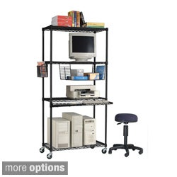 OFM 3618 LAN Station and Mobile Shelf