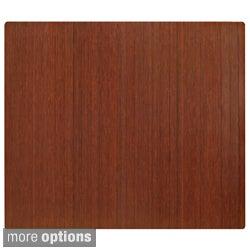 Eco Bamboo Standard Rectangular Chair Mat (60 x 48)