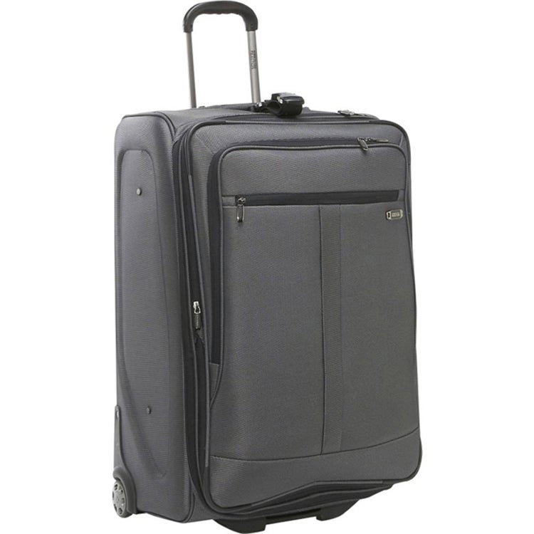Kenneth Cole Reaction Grey Triple Cross 30-inch Expandable Wheeled Upright