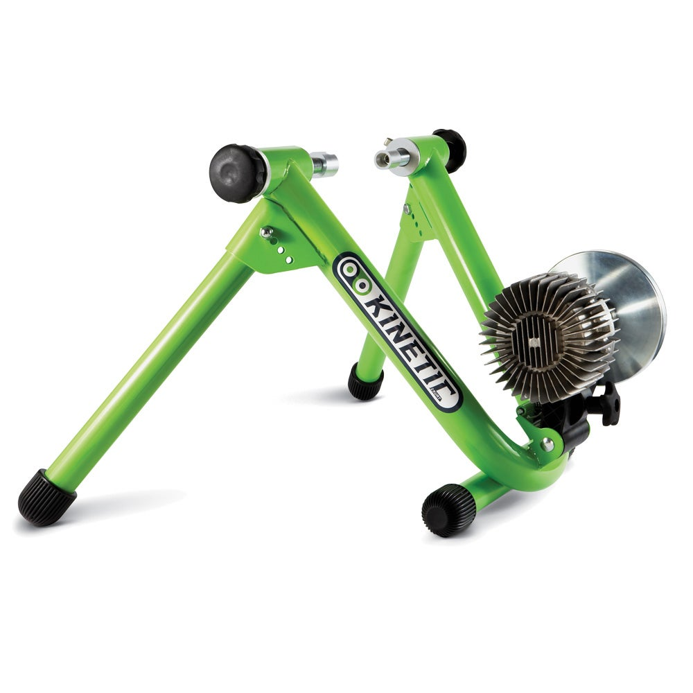 Road Machine Fluid Trainer Green With DVD