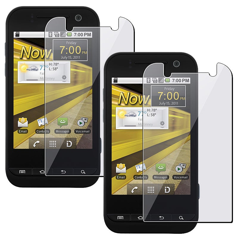 Screen Protector for Samsung Conquer D600 4G (Pack of 2)