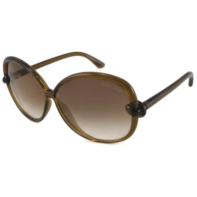 Tom Ford 'Ingrid' TF0163 Women's Rectangular Sunglasses
