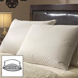 Famous Maker White Goose Triple Chamber Pillows (Set of 2)