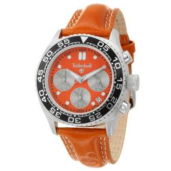 Timberland Women's 'Performance' Stainless Steel and Leather Quartz Chronograph Watch