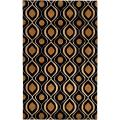 Candice Olson Hand-tufted Laval Moroccan Tile Wool Rug (9&#39; x 13&#39;)