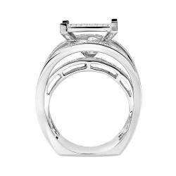 10k White Gold 1 1/4ct TDW White Diamond Ring (H, I1-I2)