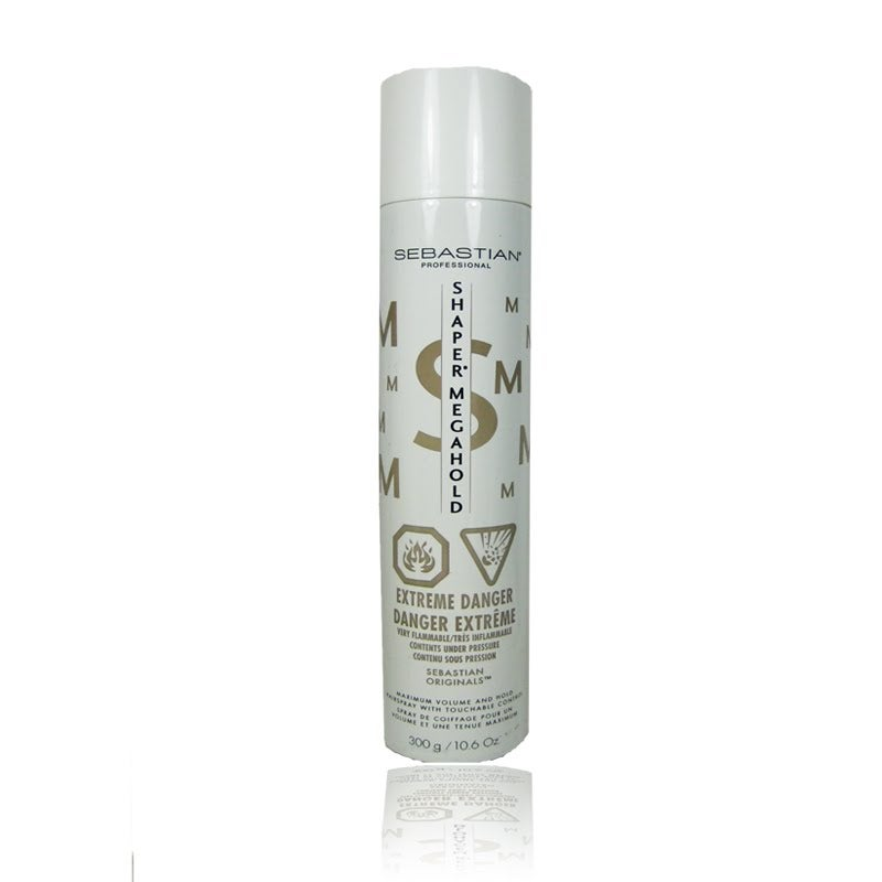 Sebastian Shaper Megahold Maximum Volume Hairspray 10.6-ounce (2 pack)