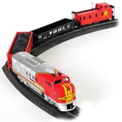 Bachmann HO Scale Santa Fe Flyer Train Set