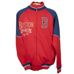 Boston Red Sox Full Zip Cotton Track Jacket