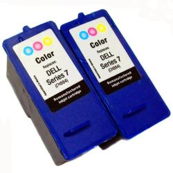 Dell Series 7 CH884 Tri-color (Remanufactured) (Pack of 2)