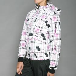 Energy Spirit Women's White Snowboard Jacket