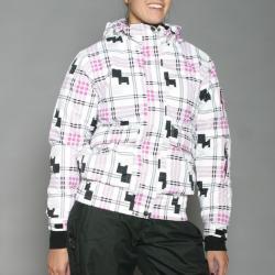 Energy Spirit Women's White Snowboard Jacket