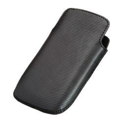 BlackBerry 9350/ 9360/ 9370 OEM Leather Pocket Case HDW-39397-001