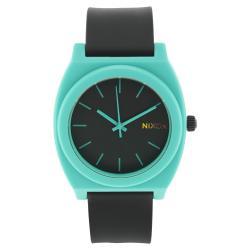Nixon Men 's Time Teller Black/Blue Quartz Watch