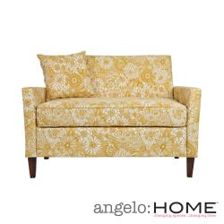 angelo:HOME Sutton Vintage Sun-washed Floral Tan Loveseat