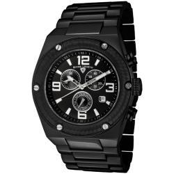 Swiss Legend Men's SL-40025P-BB-11-SA 'Throttle' Black Ion-Plated SS Chronograph Watch