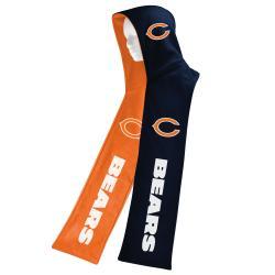 Chicago Bears Fleece Reversible Hooded Scarf