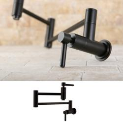 Oil Rubbed Bronze Wall-mount Pot-filler Kitchen Faucet