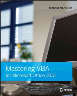 Mastering VBA for Microsoft Office 2013 (Paperback)