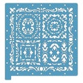 Fiskars 12 x 12 ScrapBoss Embossing Stencils