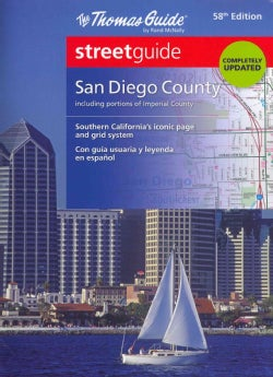 The Thomas Guide Streetguide, San Diego County (Paperback)