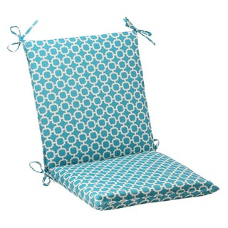 Pillow Perfect Outdoor Hockley Polyester Teal Chair Cushion