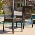 Christopher Knight Home Dusk Outdoor Wicker Chairs (Set of 2)
