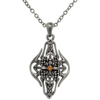 CGC Pewter Alloy Celtic Arrow Shield Necklace