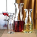 Vintage 3-piece Glass Carafe Set