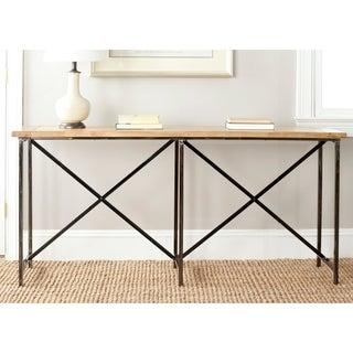 Safavieh Simon Natural Console Table