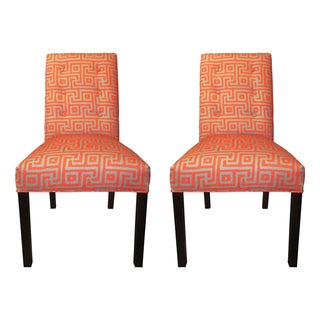 Greece Atomic 6-button Tufted Dining Chairs (Set of 2)