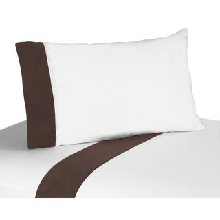 Sweet JoJo Designs 200 Thread Count Designer Dot Modern Bedding Collection Cotton Sheet Set