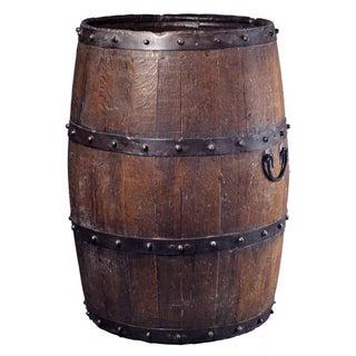 Vintage Iron-Studded Barrel