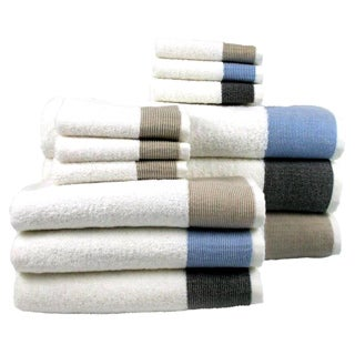 Joyce Turkish Combed Cotton 8-piece Towel Set