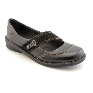 Clarks Women's 'Nikki Audition' Leather Casual Shoes - Wide