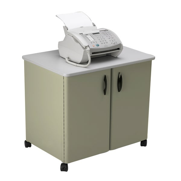 Mayline Mobile Steel Exterior/ Laminate Top Utility Cabinet