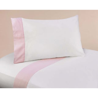 Sweet JoJo Designs 200 Thread Count Pink French Toile Bedding Collection Sheet Set