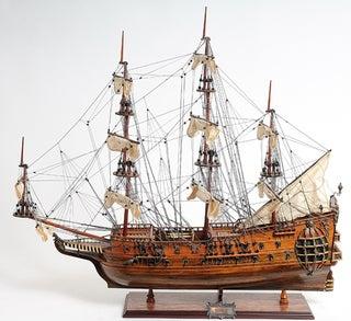 Old Modern Handicrafts Fairfax Model Ship
