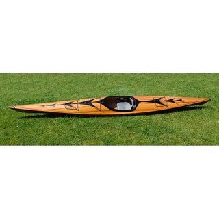 Old Modern Handicrafts 17-Foot Kayak With Arrows Design