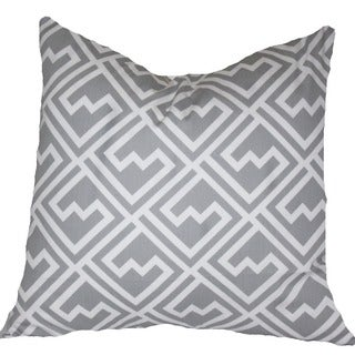 Taylor Marie Grey Maze Design Cushion Cover