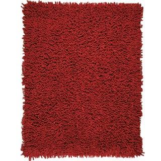 Modern EcoShag Scarlet Rug (8' x 10')