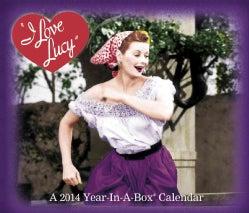 I Love Lucy 2014 Year-In-A-Box Calendar (Calendar)