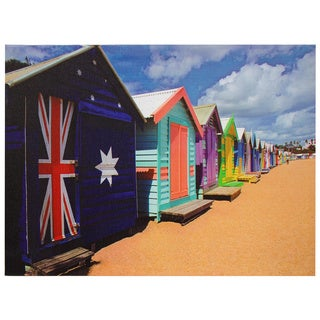 Beach Cabana Canvas Wall Art