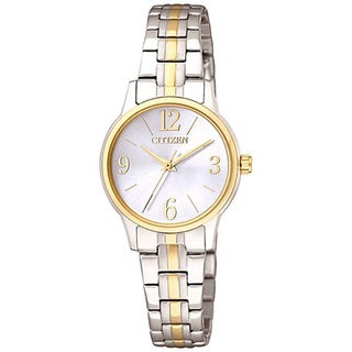 Citizen Women's Classic Quartz EX0294-58H Two-Tone Stainless-Steel Quartz Watch with White Dial