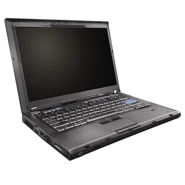 "Lenovo ThinkPad T400 2.4GHz 4GB 160GB 14.1"" Laptop (Refurbished)"