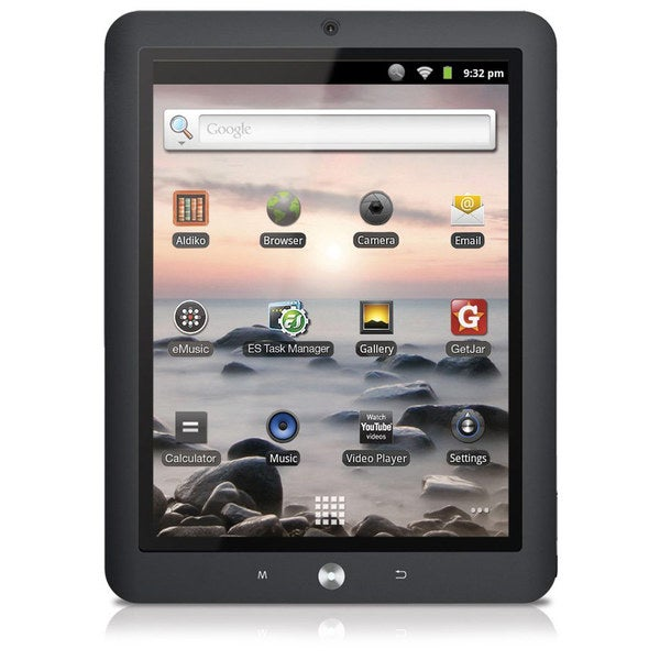 """Coby Kyros MID8125 91GHz 4GB 8"""" Android Tablet"""