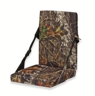 Mossy Oak Hunting Covered Foam Cushion with Backrest Mossy Oak Break-Up
