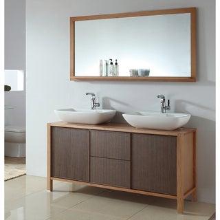Double Vanities Wall Mirror Bathroom Vanities Overstock