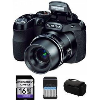 Fuji Film FinePix S2980 14MP Digital Camera Bundle